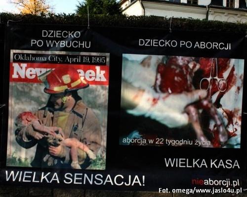 Szokująca Wystawa O Aborcji W Jaśle Wiadomości Jaslo4upl