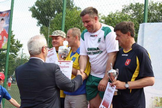 Samorządowcy z gminy Nowy Żmigród pokazali sportową klasę!